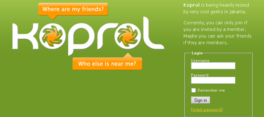 Yahoo rachète Koprol